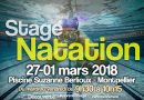 STAGE NATATION HIVER 2018