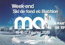 WEEKEND Ski de fond