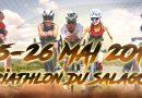 Lancement du triathlon du salagou