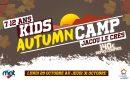 Ouverture des inscriptions KIDS AUTUMN CAMP